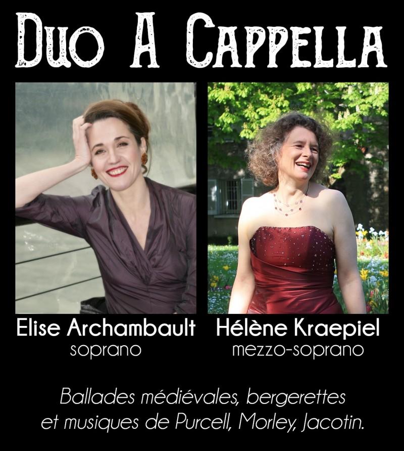 19 mai : Duo a cappella