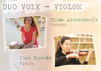26 février : Duo voix-violon